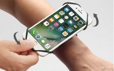 ISIBAND : Le nouveau bracelet porte téléphone de ISITEC INTERNATIONAL