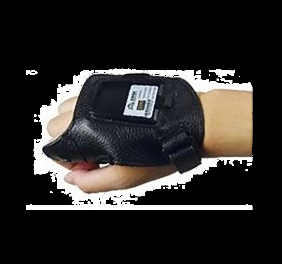 Gants en cuir pour scanner mains libres